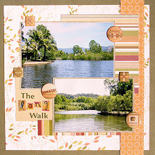 Scrapbooking Ideas - Using Patterned Papers To Create Your Background