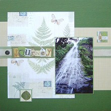 Scrapbooking with Border Stickers