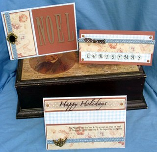 Scrapbooking - Christmas Cards
