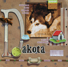 Scrapbooking Ideas with Chipboard
