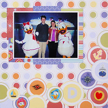 Scrapbooking Ideas with Circles