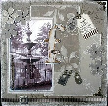 Collage Scrapbooking and Distressing Techniques