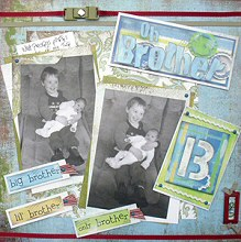 Collage Scrapbooking and Layering