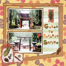 Scrapbooking Ideas - Frame Your Page