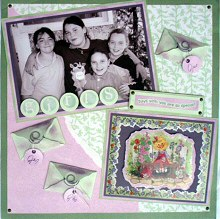 Hidden Journalling with Scrapbooking Tags