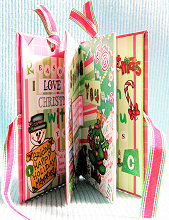 Scrapbooking Ideas - How to Make A Mini Album