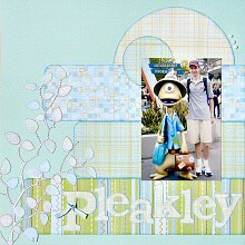 Using Patterned Papers as Scrapbooking Embellishments