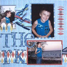 Sewing on Scrapbook Pages