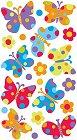Sparkly Dot Butterflies Epoxy Stickers