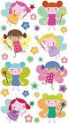 Lovely Fairies Epoxy Stickers