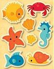 Under Sea Puffy Stickers