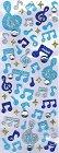 Glitter Bl Music W/ Rhinestone Kawaii Stickers