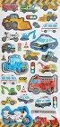 Super Puffy Vehicles Kawaii Stickers