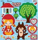 Little Red Riding Stickers