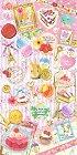 Lady Mode Sweets Satin Kawaii Stickers