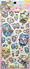 Super Puffy Pop Girls Kawaii Stickers