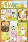 Easter Bunnies And Things Stickers