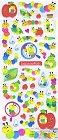 Colourful Catapillars Epoxy Kawaii Stickers
