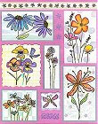 Sun-Kissed Flowers Stickers