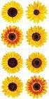 Mini Sunflowers Stickers