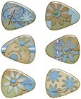 Serenity Resin Guitar Picks Stickers