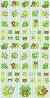 Shiny Rilakkuma Green Clovers Kawaii Stickers
