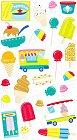 Glitter Icecream Truck Stickers