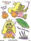 Princess Frog Stickers