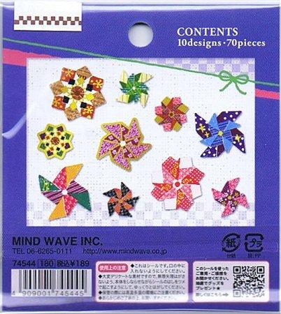 Pinwheels Kawaii Sticker Sack 2