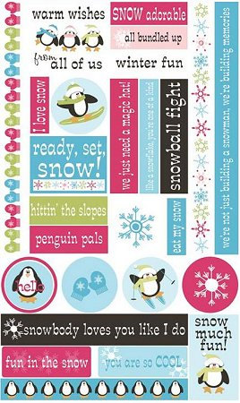 Snow Much Fun Stickers