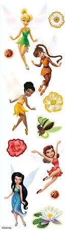 3D Tinkerbell Fairies Stickers