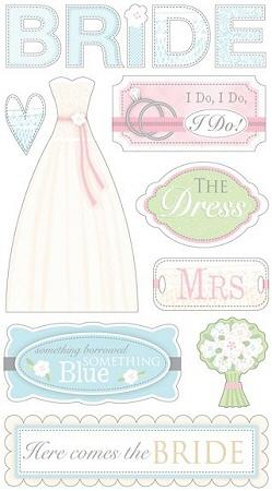 Radiant Bride Stickers