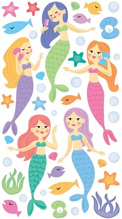 Mermaids Stickers