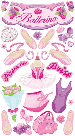 Ballerina Stickers
