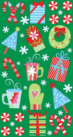 Christmas Medley Stickers
