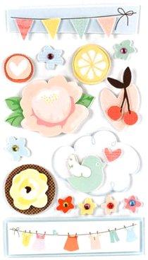 3D Flutter Stickers