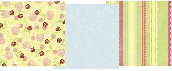 Spring Fling Paper Pack 12x12