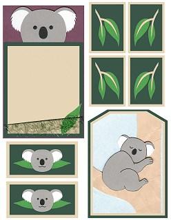 Koala Cut-Outs