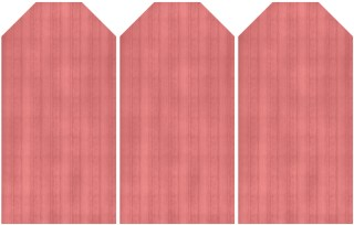 Wood Grain Tags