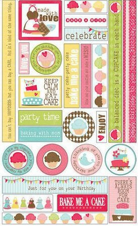 Bake Me A Cake Stickers