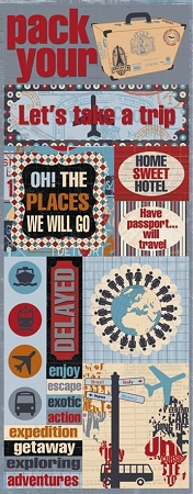 Home Sweet Hotel Stickers