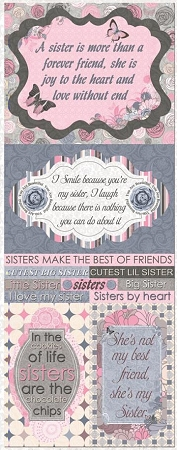 She's My Sister Stickers