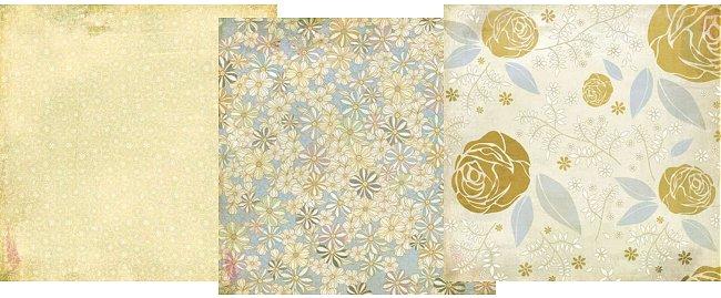 Wist Primrose Paper Pack 12x12