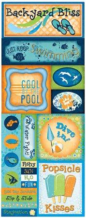 Backyard Bliss Stickers