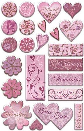 Heartfelt Epoxy Stickers