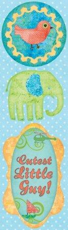 Boho Little Boy Stickers