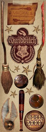 Harry Potter Quidditch Stickers