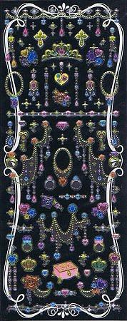 Shiny Pretty Jewellery Kawaii Stickers