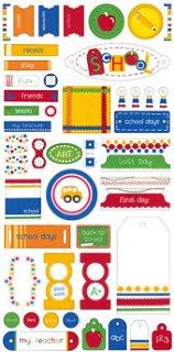 School Tags & Tabs Stickers