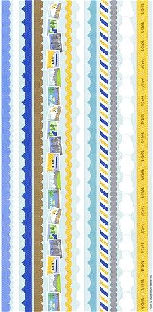 Great Getaways Frills Stickers
